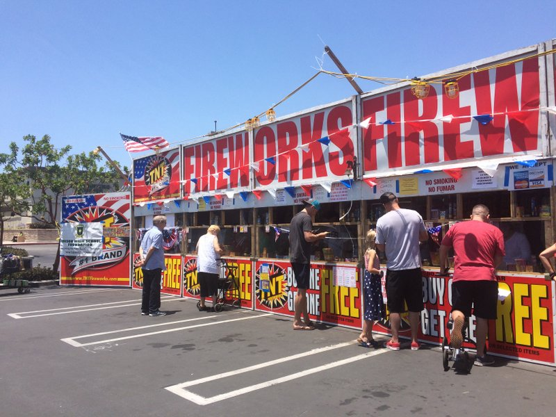 Fouth of July Firework Stand Fundraiser